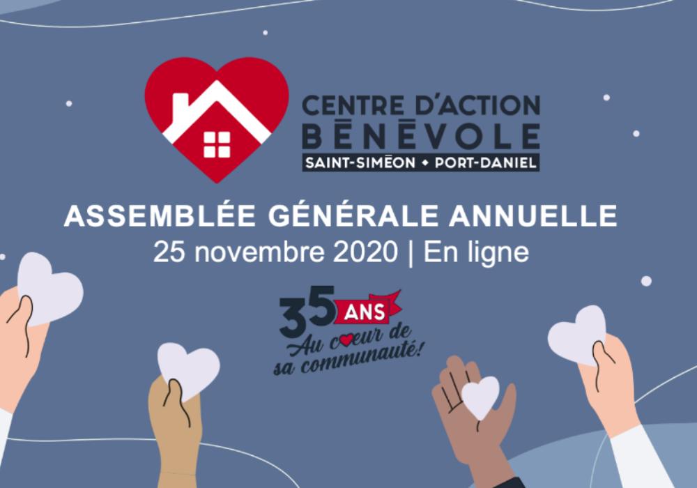 AVIS DE CONVOCATION : Assemblée générale annuelle 2020